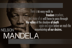 , There is no easy walkto 