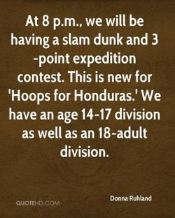 At 8 p.m., we will be 