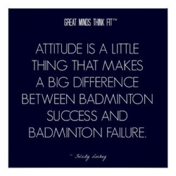 ATTITUDE IS A LITTLE 