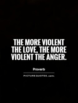 THE MORE VIOLENT 