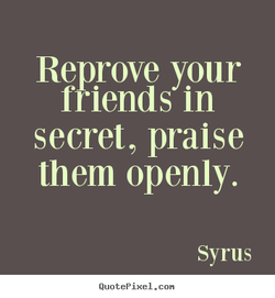 Reprove your 