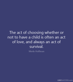 The act of choosing whether or 