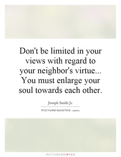 Don't be limited in your 