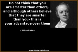 Do not think that you 