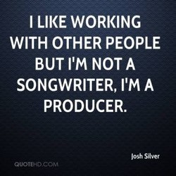 I LIKE WORKING 