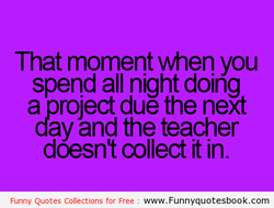 That moment when you 