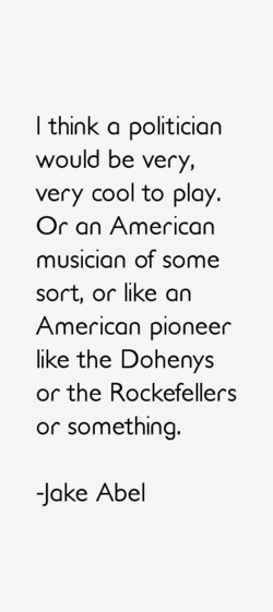 I think a politician 