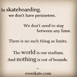 In skateboarding, 