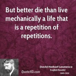 But better die than live 