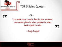 TOP 5 Sales Quotes 