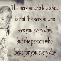The person who loves you 