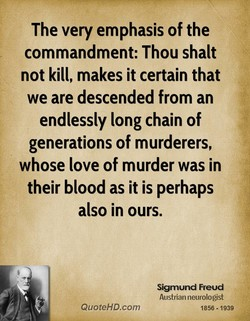 The very emphasis of the 