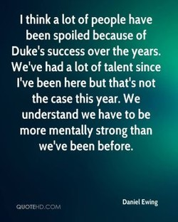 I think a lot of people have 