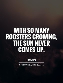 WITH SO MANY 
