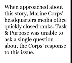When approached about 