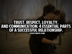 TRUST, RESPECT, LOYALTY, 