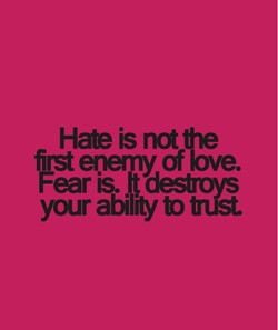Hate is 