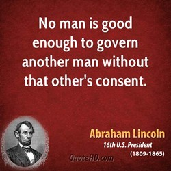 No man is good 