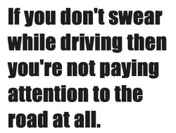 If you don't swear 