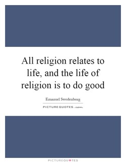 All religion relates to 