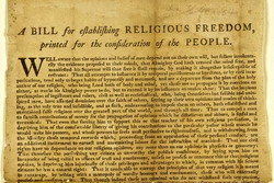 a BILL RELIGIOUS FREEDOM, 