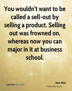 You wouldn't want to be 