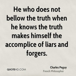 He who does not 