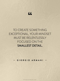 TO CREATE SOMETHING 