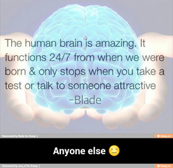 The human brain is amazing. It 