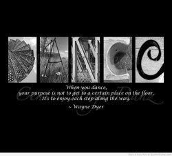 When you dance, 