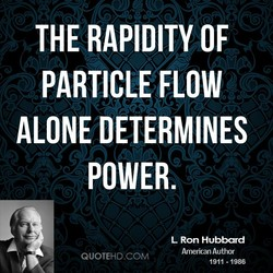 THE RAPIDITY OF 