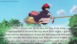 . I •moved out 0m o wm foAhe •firS± 