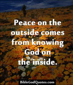 Peace on the 
