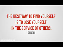 THE BEST WAY TO FIND YOURSELF 