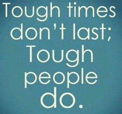 Tough times 