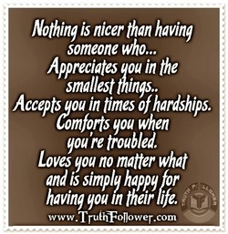 Nothing is nicer than having 