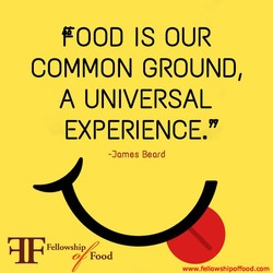 FOOD IS OUR 