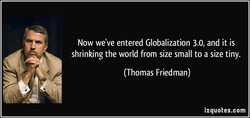 Now we've entered Globalization 3.0, and it is 