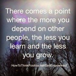 There comes a point 