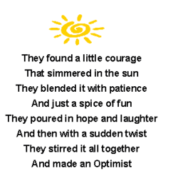 They found a little courage 