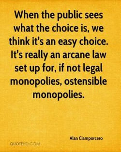 When the public sees 