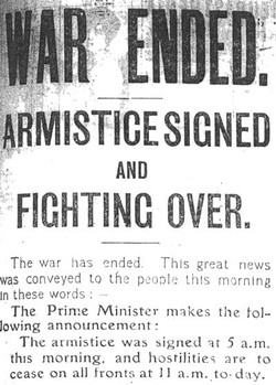 ARMISTICESICNED 