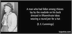 A man who had fallen among thieves 