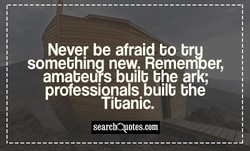 Never be afraid bo bru 