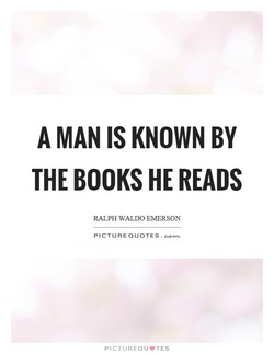 A MAN IS KNOWN BY 