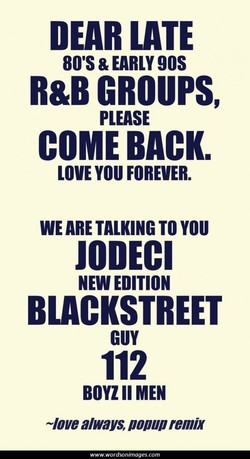 DEAR LATE