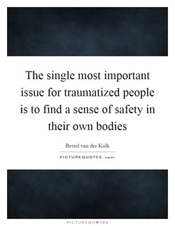 The single most important 