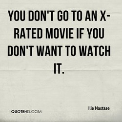 YOU DON'T GO •ro AN X- 
