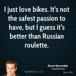 i just love bikes. Itis not 