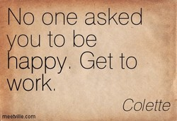 No one asked 